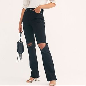 Free People My Own Lane Bootcut Jeans